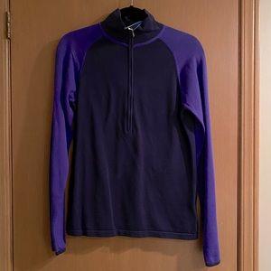Columbia Half Zip Sweater